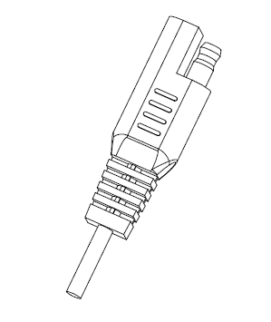 SAE Connector for Automobile and RV Trailer available in 2 prongs as a standalone cable or as a output connector for a AC adapter power supply, DC00017