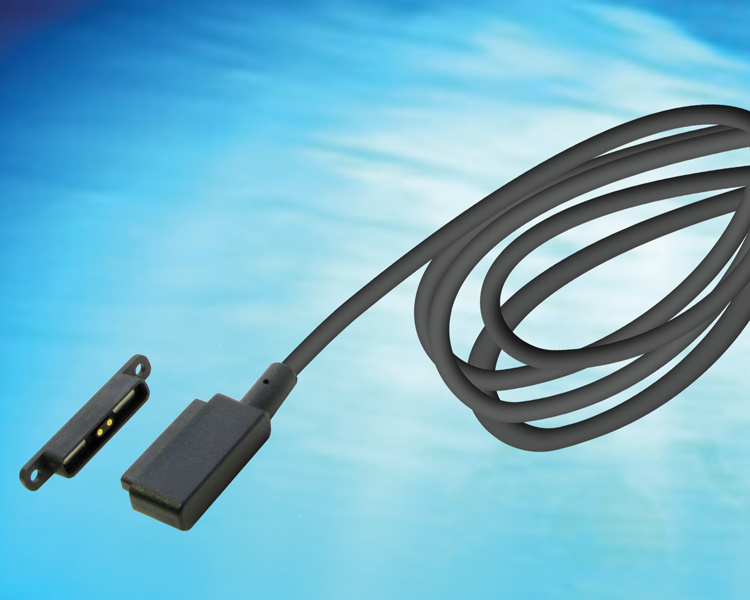 GlobTek offers off the shelf magnetic connector MAG2C2A11851M5xxxA(R as a standard magnetic connector output cord option for power supplies or MAG2C2A11851M5USBA(R as a detachable connector with USB-A...
