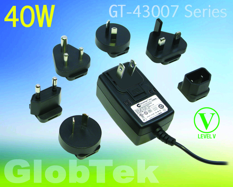 Addressing the need for a power supply solution that can be applied in markets in multiple countries, the GT-43007 ITE-rated wall plug-in power supply from GlobTek is available with a set of interchangeable...